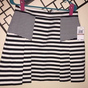 NWT Michael Kors striped skirt Sz. 12